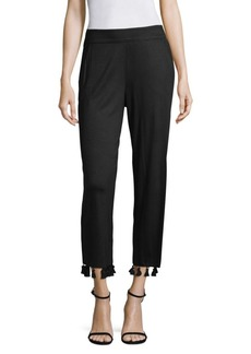Jennet Tassel-Trim Pants