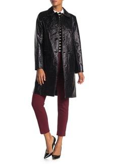 Trina Turk Jones Front Button Coat