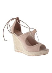Trina Turk LACE UP WEDGE