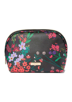 Trina Turk Large Floral Print Dome Cosmetic Bag