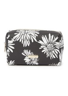 Trina Turk Large Rectangle Floral Print Cosmetic Bag