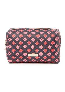 Trina Turk Large Rectangle Geometric Print Cosmetic Bag
