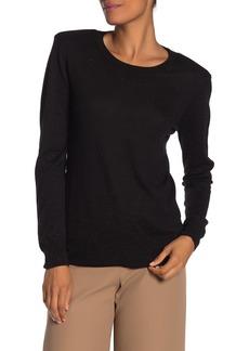 Trina Turk Layla Threaded Pullover Sweater