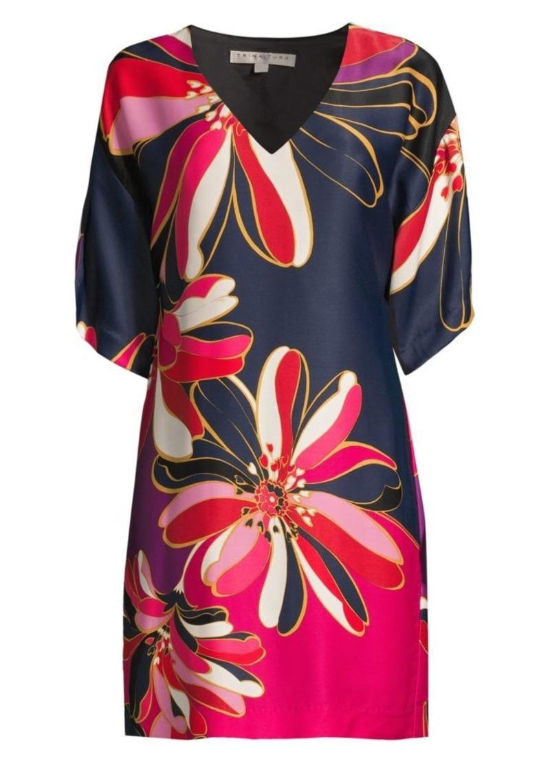 Trina Turk Liz Printed Shift Dress