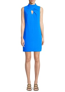 Trina Turk Los Alamitos Wrap-Front Mini Dress