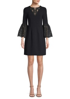 Trina Turk Luciana Bell Sleeve Dress