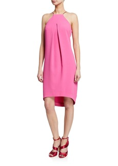 Trina Turk Lucky High-Low Halter Dress