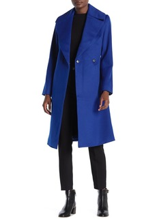 Trina Turk Luna Wool Blend Wrap Coat