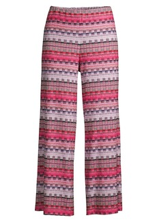 Trina Turk Makon Striped Knit Pants