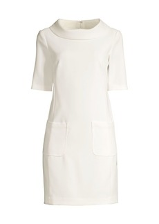 Trina Turk Maleko Funnelneck Sheath Dress