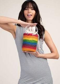 Trina Turk MARLEY RAINBOW BUCKET BAG