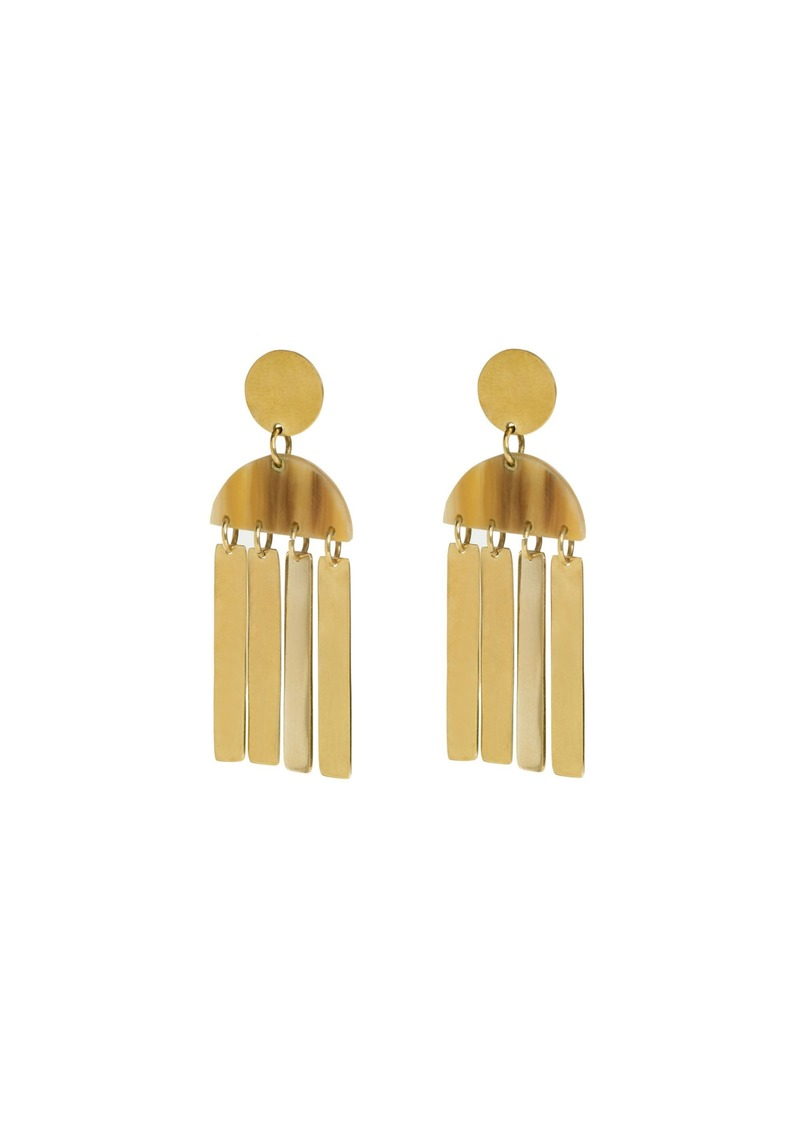 Trina Turk MAXI HORN CALA EARRINGS