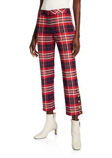 Trina Turk Mercury Plaid Pants