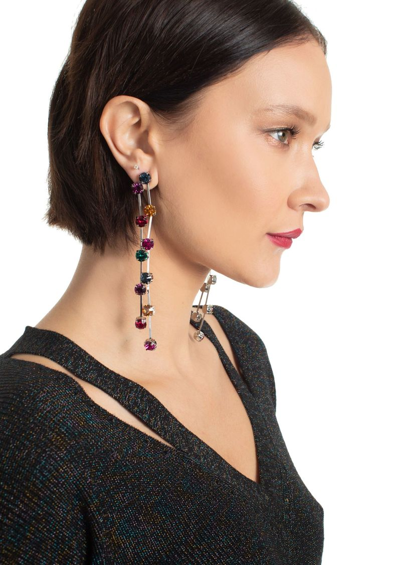 Trina Turk MULTI COLOR DROP EARRING