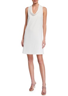Trina Turk Naples Cowl-Neck Sleeveless Dress
