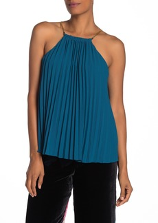 Trina Turk Nayarit Pleated Sleeveless Top