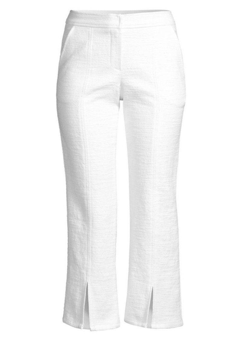 Trina Turk North Beach Split Cuff Cropped Pants