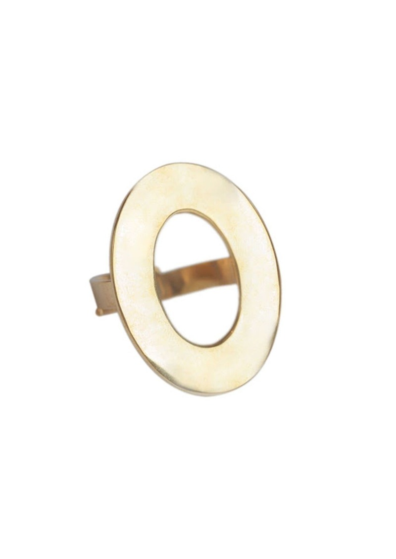 Trina Turk OPEN OVAL STATEMENT RING