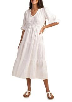 Trina Turk Out of Office Calm Midi Dress