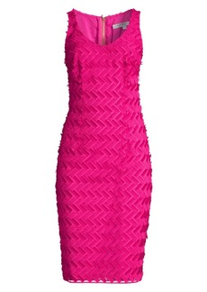 Trina Turk Peak Textured Sheath Dress
