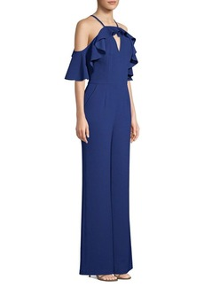 Trina Turk Plaza Off-The-Shoulder Jumpsuit