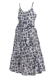 Trina Turk Precious Printed Tie-Waist Midi Dress