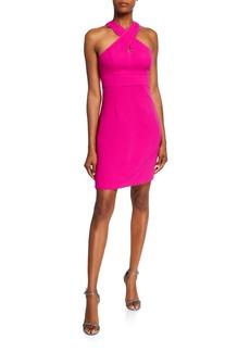 Trina Turk Rafter Mini Halter Dress