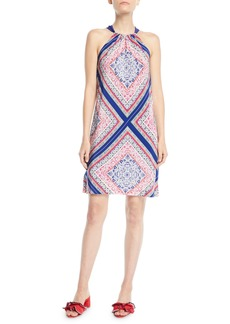 Trina Turk Rancho Halter Dress in Meet Me in Malibu