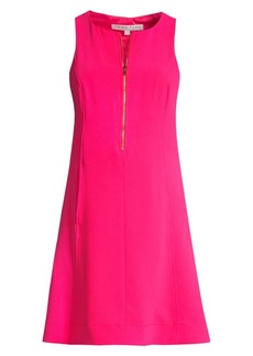 Trina Turk Reef Zip Front Shift Dress