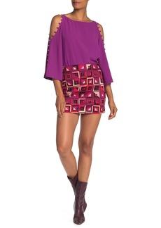 Trina Turk Rico Geo Print Mini Skirt