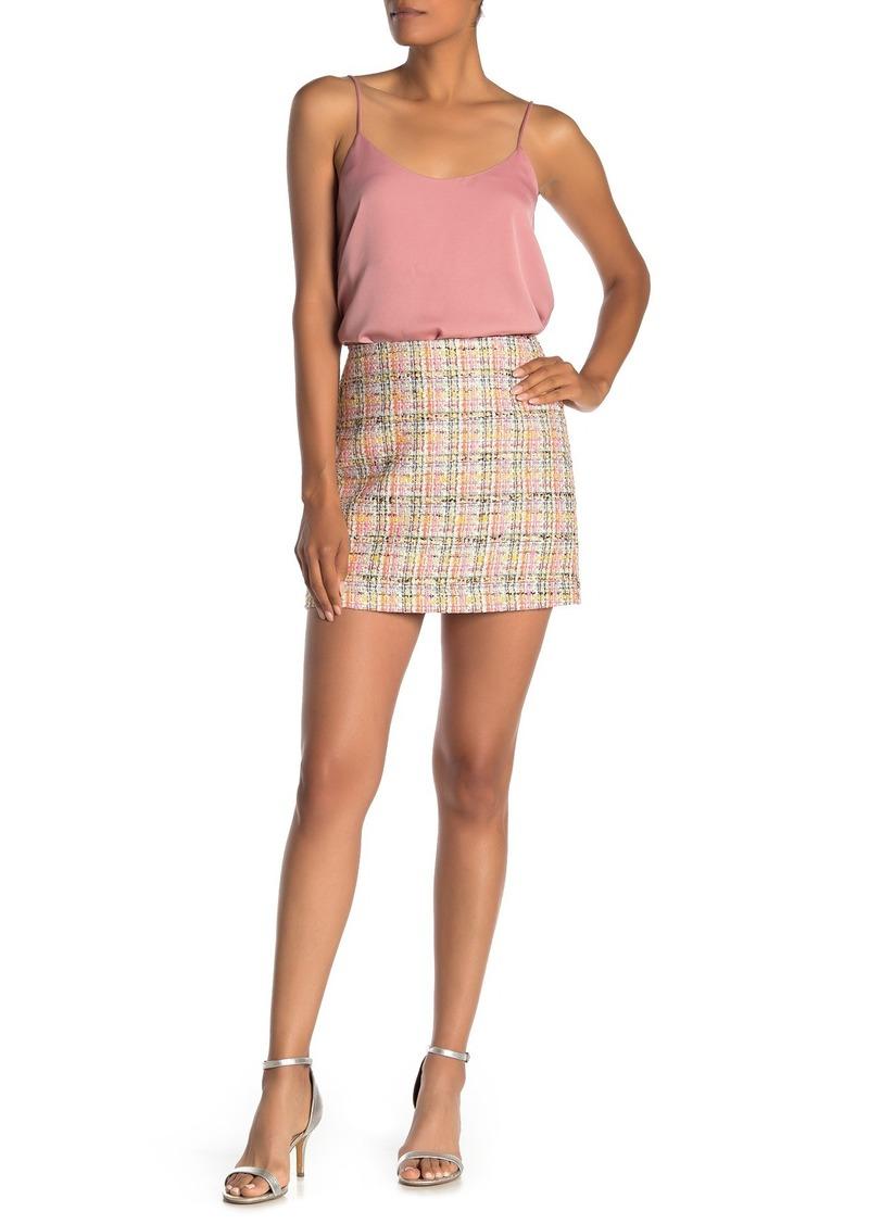 Trina Turk Rico Woven Mini Skirt