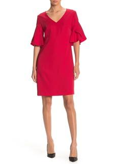 Trina Turk Rocks Tulip Sleeve Shift Dress