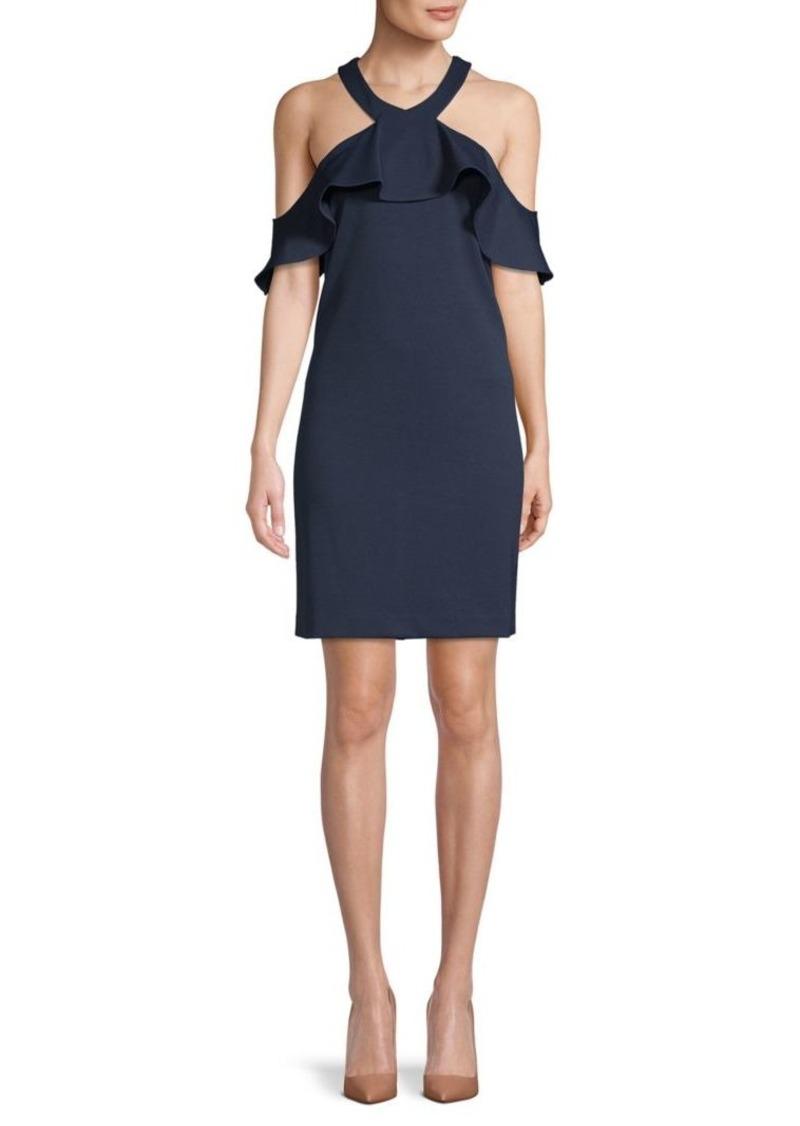 Trina Turk Ruffled Mini Dress