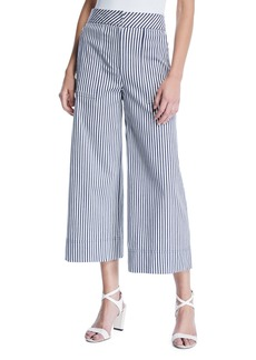 Trina Turk Sacramento Wide-Leg Striped Pants