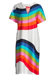 Trina Turk Shangri La Honolulu Cotton Midi Dress