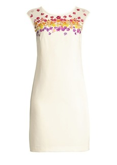 Trina Turk Shangri-La Prismatic Floral Sheath Dress
