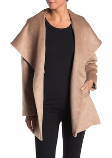 Trina Turk Sheared Long Coat