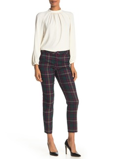 Trina Turk Sheree Plaid Trousers