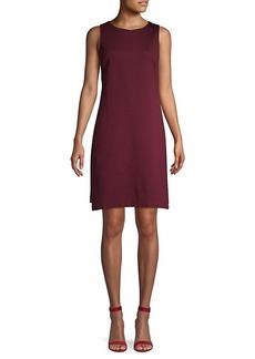 Trina Turk Split-Hem Mini Dress