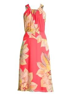 Trina Turk Summery Floral Midi Dress