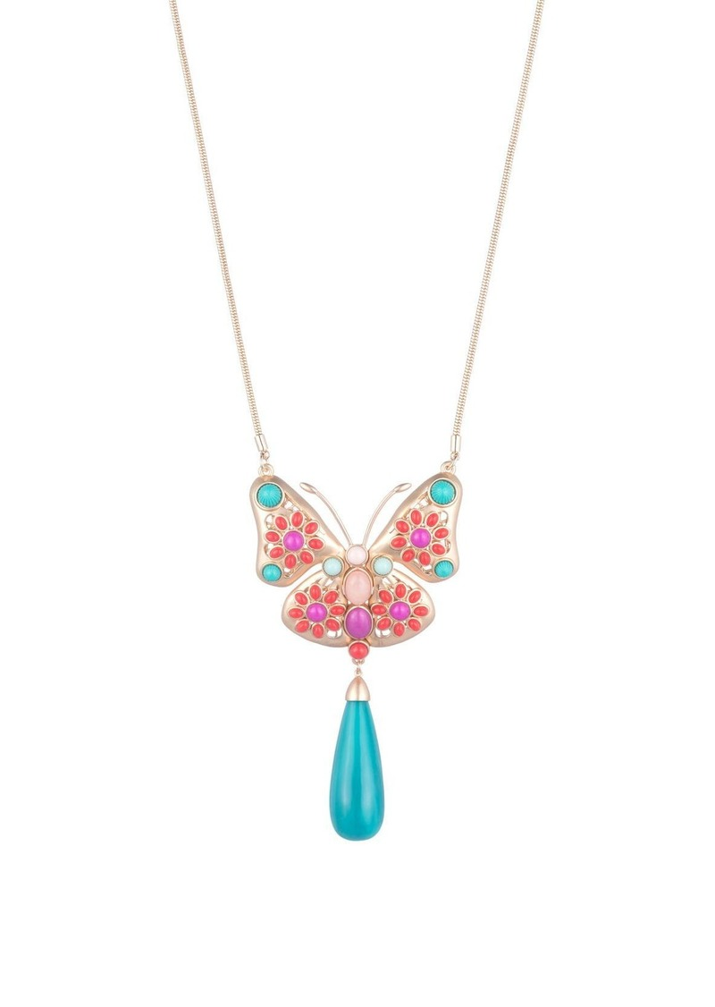 Trina Turk SUPER BLOOM BUTTERFLY NECKLACE