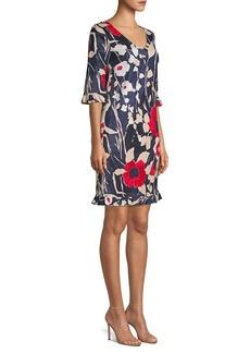 Trina Turk Tourist Floral Shift Dress