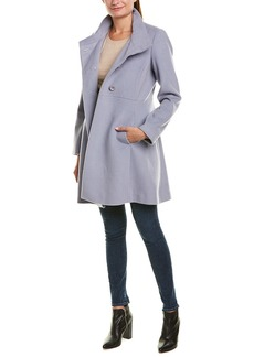 Trina By Trina Turk Kate Wool-Blend Coat