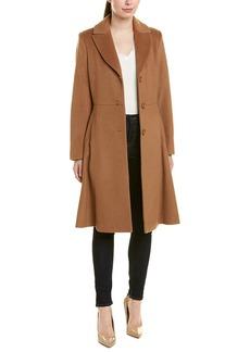 Trina By Trina Turk Skylar Wool-Blend Coat