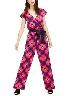 Trina Trina Turk Benvolio Printed Belted Jumpsuit