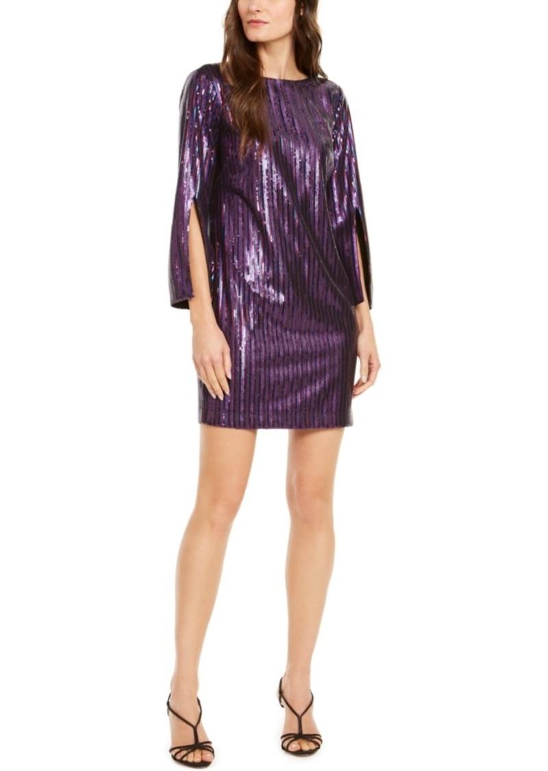 Trina Trina Turk Gia Sequined Sheath Dress