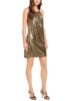Trina Trina Turk JuJu Sequined Shift Dress