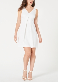 Trina Trina Turk Pleated A-Line Dress