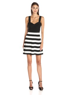 Trina Trina Turk Women's Envy Stripe Sweater Dress