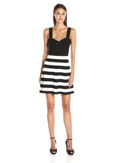 Trina Trina Turk Women's Envy Stripe Sweater Dress